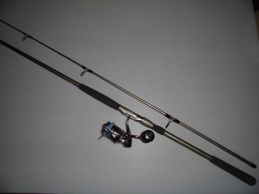 ヒラメ・マゴチ釣り タックルの写真