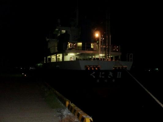 タチウオ 釣り場の写真 夜