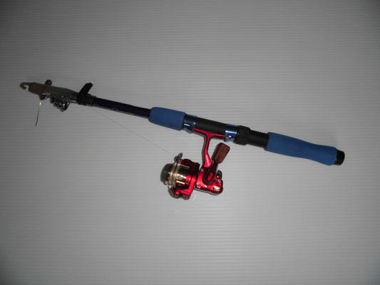 イイダコ釣り パックロッドの写真