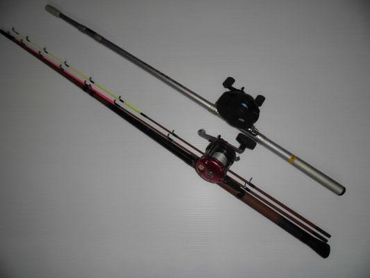 カワハギ釣り タックルの写真