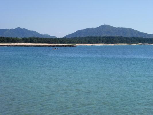 ヒラメ 釣り場の写真