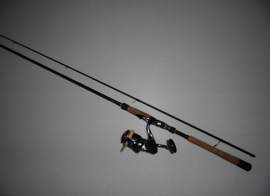 サヨリ釣り シーバスタックルの写真