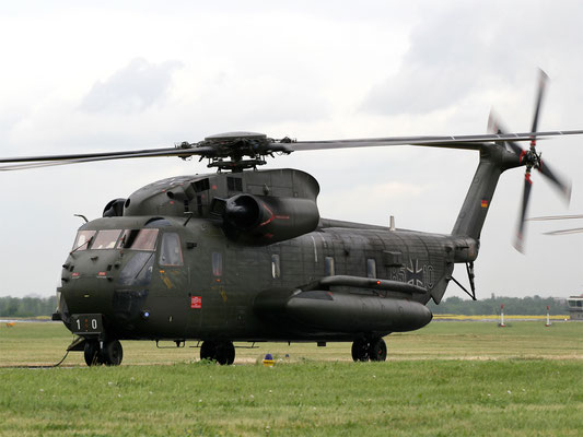 Il Sikorsky CH-53G rappresenta la spina dorsale dei trasporti dell' Heer e adesso della Luftwaffe (Foto: Luftwaffe)