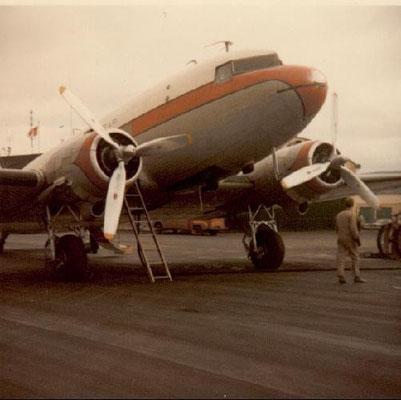 DC-3 ossia il C-47 versione trasporto civile.