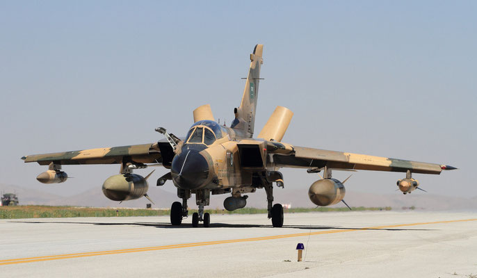 © RSAF - Panavia Tornado con Damocles RTP