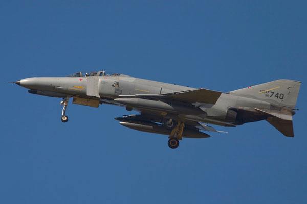 F-4E Phantom II (© Elmer van Hest)