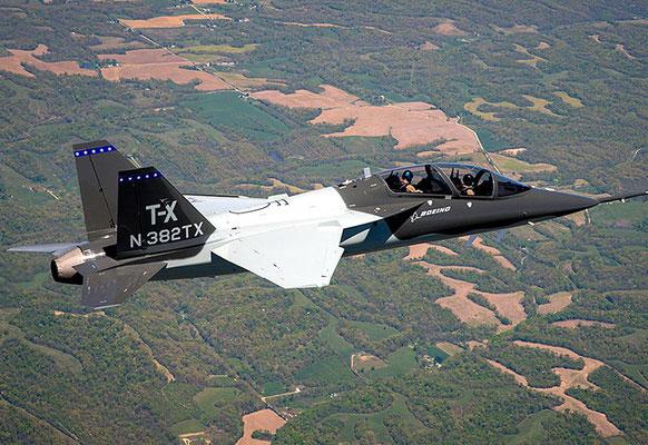 Boeing - Saab T-X (Foto: Boeing)