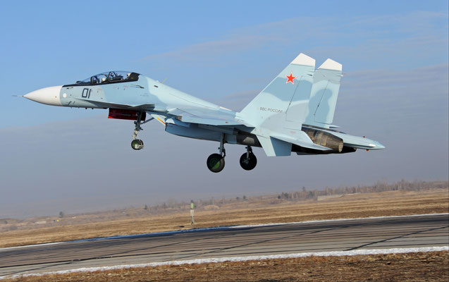 Caccia multiruolo Sukhoi Su-30 (Foto: Irkut)