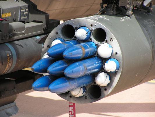 Hydra 70 razzi non guidati. (© General Dynamics)