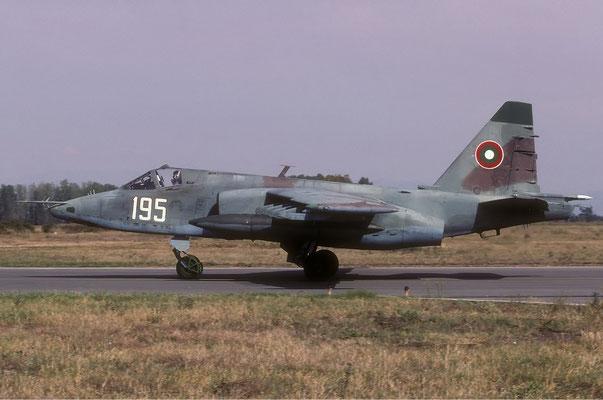 Su-25K Frogfoot in dotazione ai reparti d'attacco della BVS.
