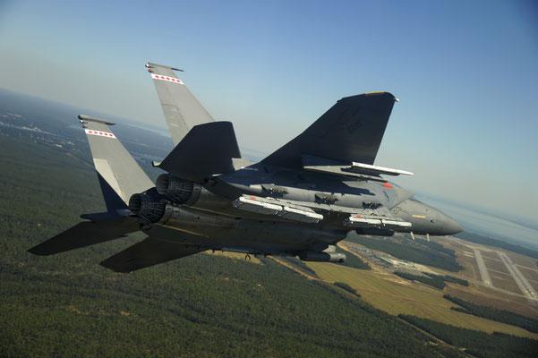 Strike Eagle con l'attacco quadruplo. -  © Raytheon