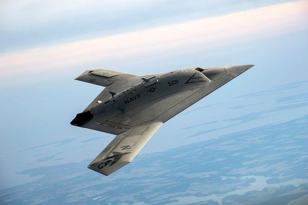 X-47B Pegasus (Foto Northrop-Grumman).