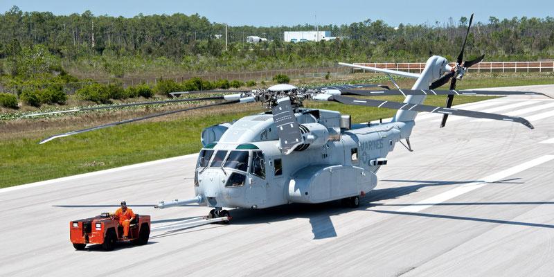 Il nuovissimo SIkorsky CH-53K (Foto ©Sikorsky)