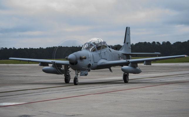 """Embraer A-29B """"Super Tucano"""" (Foto: USAF)"""