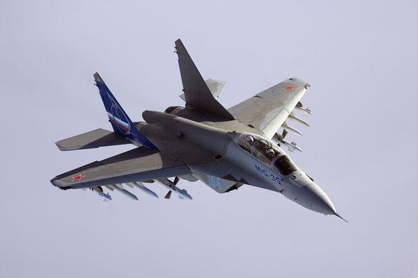MiG-35 la versione più aggiornata del multiruolo MiG-29. (Foto: RAC-MiG)