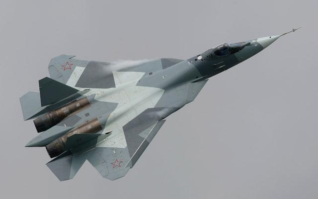 Il caccia di quinta generazione SUkhoi T-50 PAK-FA (Foto: Sukhoi)