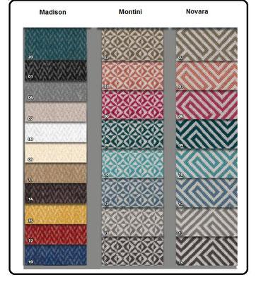 Diferentes tejidos a elegir. Igual precio