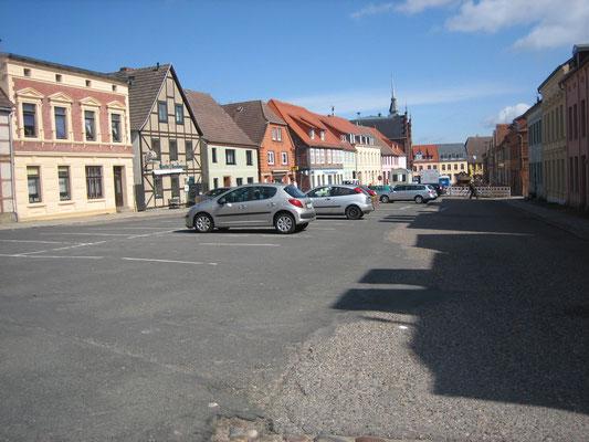 Plauer Marktplatz