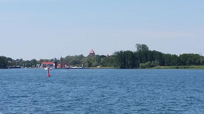 Plau von der Seeseite