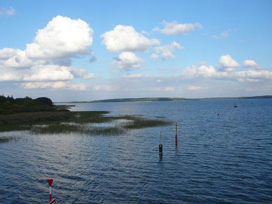 Blick auf den Plauer See vom Aussichtsturm