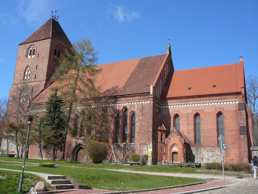 """Evangelische Kirche """"St. Marien"""" in Plau am See"""