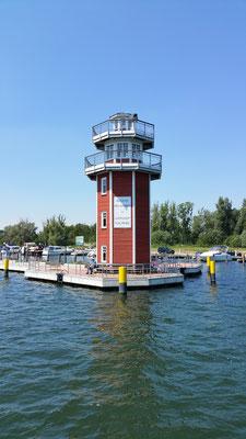 Plauer Leuchtturm von der Seeseite