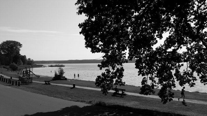 Badestrand in der Plauer Bucht