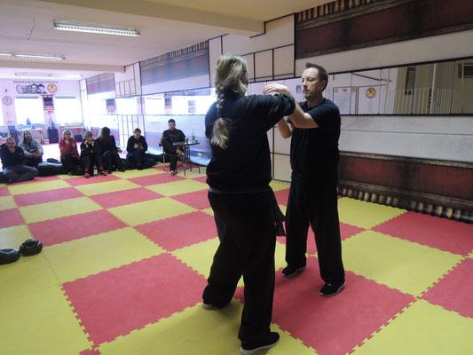 Wing Chun Blach Sash Prüfung 5