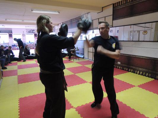 Wing Chun Blach Sash Prüfung 4