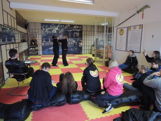 Wing Chun Blach Sash Prüfung 8