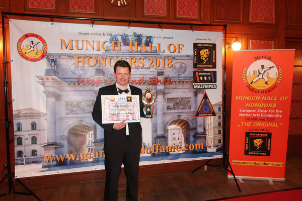 Award 2018 Hall of Honours Munich