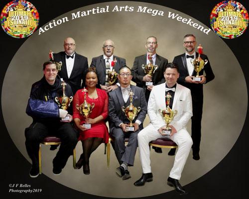 Atlantic City Wing Chun Sifu Schinhammer Auszeichnung