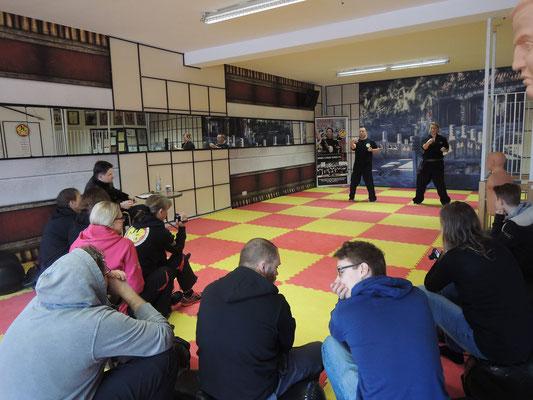 Wing Chun Blach Sash Prüfung