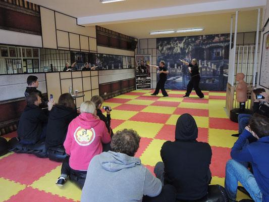 Wing Chun Blach Sash Prüfung 3