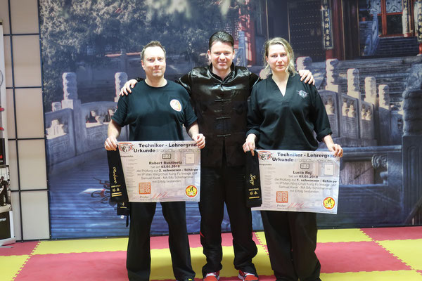 Wing Chun Blach Sash Prüfung 9