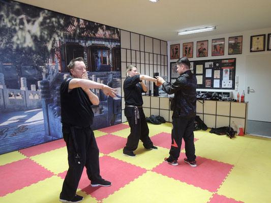 Wing Chun Blach Sash Prüfung 2