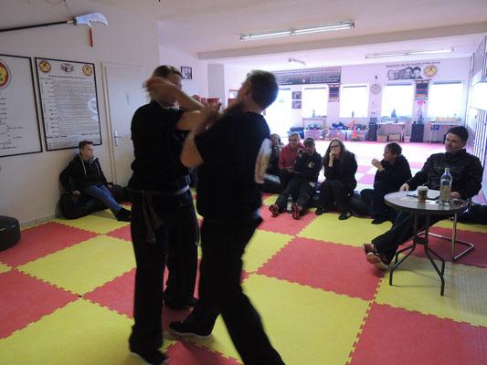Wing Chun Blach Sash Prüfung 6