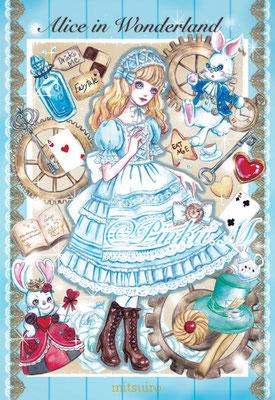 「Alice in Wonderland(ドールコラボイラスト)」