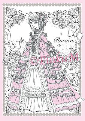 「Romantic Rococo Pink」