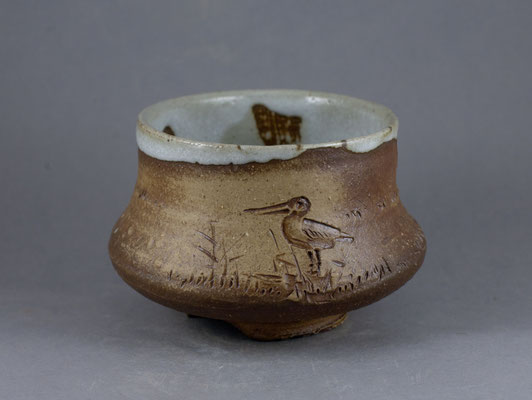 "Paul Fryman & Eugeny Granin. Tea bowl ""One Morning"". SOLD"