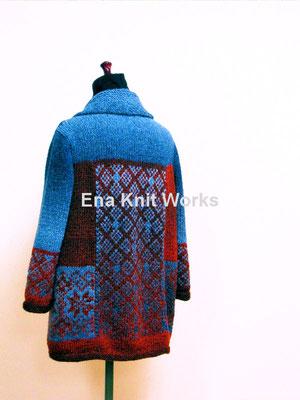 編み込み模様のジャケット(ベストアイズvol.125)