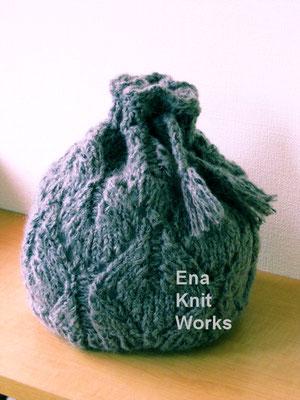 透かし編みの帽子(『旬の帽子』ブティック社)