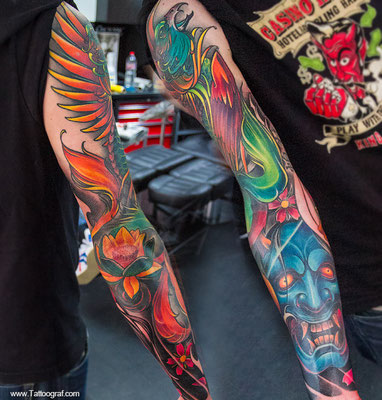 Tattoo by Anton Oleksenko