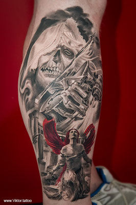 Tattoo by Nikolay Dzhangirov
