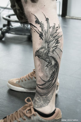 Tattoo by Alexander Pashkov