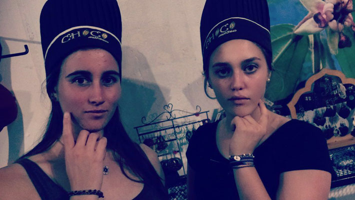 ´We are models!