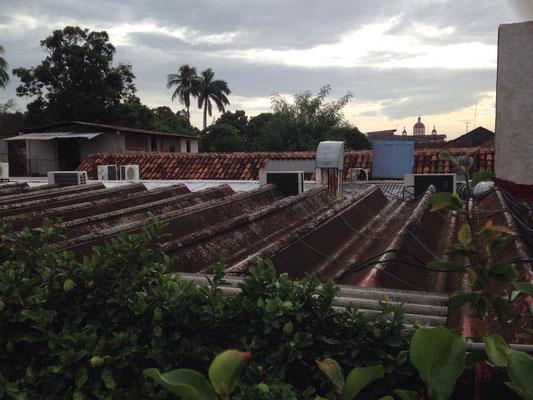Rooftops of Granada, Nicaragua
