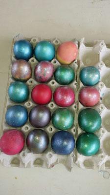 Kein Jahr ohne farbige Ostereier