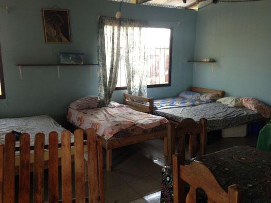 Massenlager im Ferienhaus in Pinilla