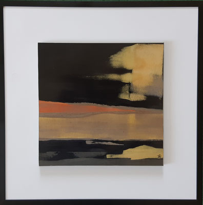 """Série """" les carrés"""" n°4 . Art contemporain, marqueterie . 400€"""